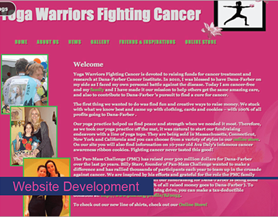 Yoga Warriors Website