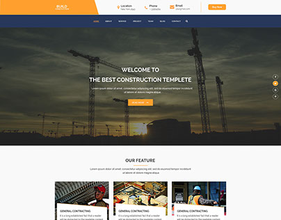 Build Construction Psd