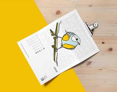 Calendar 2018   grafik