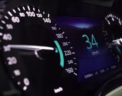 Seamless Hybrid Automotive Instrument Cluster