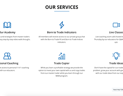 FOREX Trading Website Design + Development