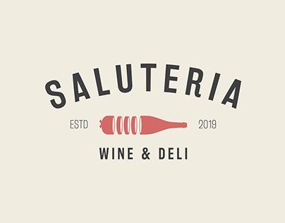 SALUTERIA Wine & Deli Logo