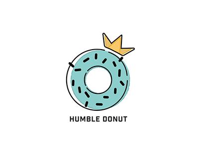 Humble Donut Identity