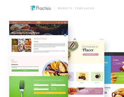 Practisis - Website Templates