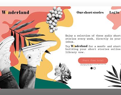 Wonderland - Short-stories delivery