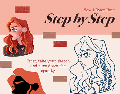 How I Color Hair | Black Widow Step by Step
