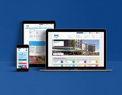 NHS Fife Website Design