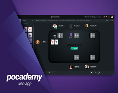 Pocademy - poker hand replayer web application