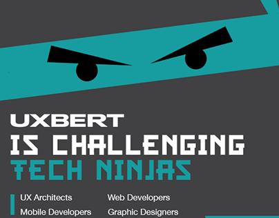 Hiring UX Architects & iOS Developers in Riyadh Flyer