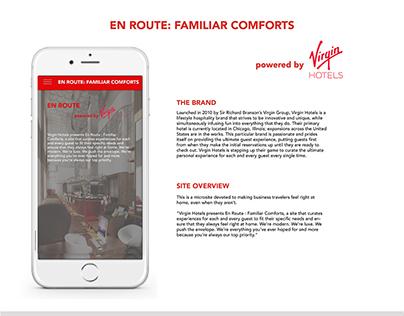 En Route: Familiar Comforts