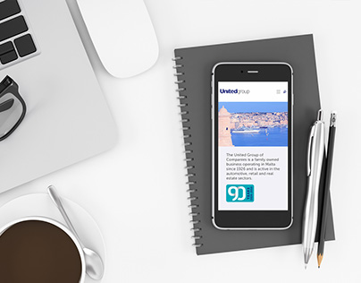 United Group Website Responsive Design & Development