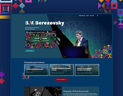 Pianist B. V. Berezovsky