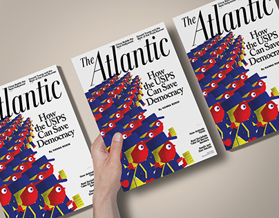 The Atlantic Cover (School Project)