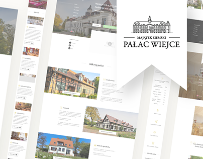Wiejce Palace Redesign | Website