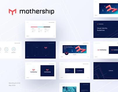 Mothership - digital asset exchange platform