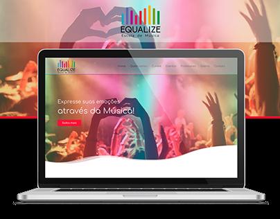 Website - Equalize Escola de Música