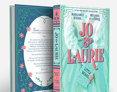 Jo & Laurie Book Jacket Lettering & Design