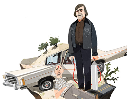 """""""No Country for Old Men"""" Fanart"""