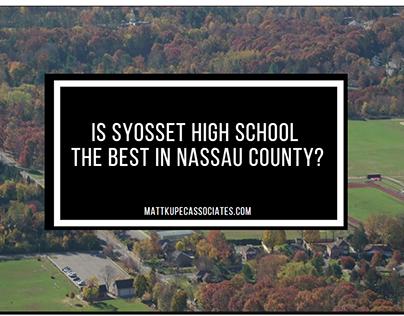 Matt Kupec: Is Syosset HS the Best in Nassau County?