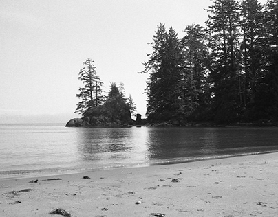 Vancouver Island in B/W