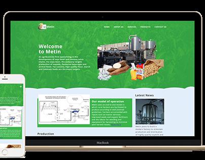 Metin Uganda Limied Website