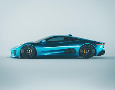 Jaguar CX75 | CGI