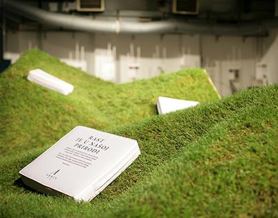 Lawn grow pavilion for Adris