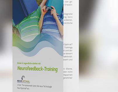 Flyerdesign Bifold Neurofeedback