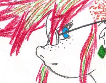 Colored Penc.