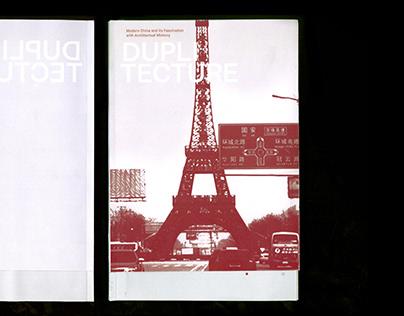 """""""Duplitecture"""" Book Design"""