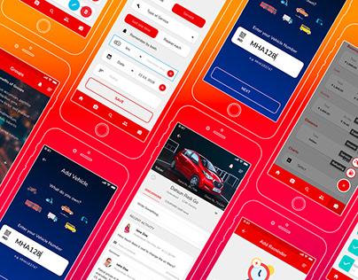 Traffic Violation Public Reporting Mobile App Design