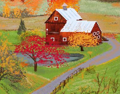 Pixel Fall Farm
