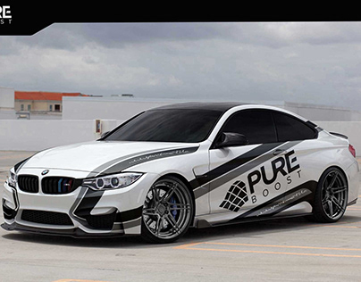 Branding for Pure Boost car performance team