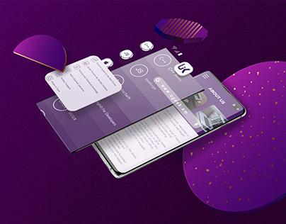 ' Ugeek ' UX/UI mobile design