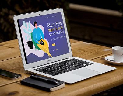 Startup Web & Mobile Design | Landing page