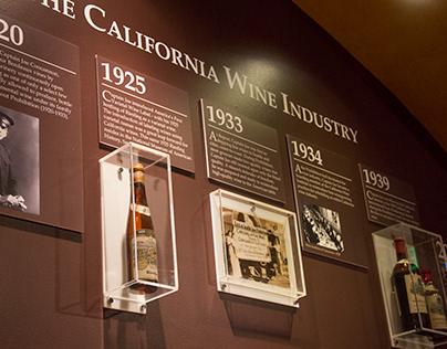 Tasting Room History Exhibits