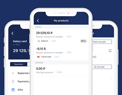 VTB Bank – Mobile App Redesign
