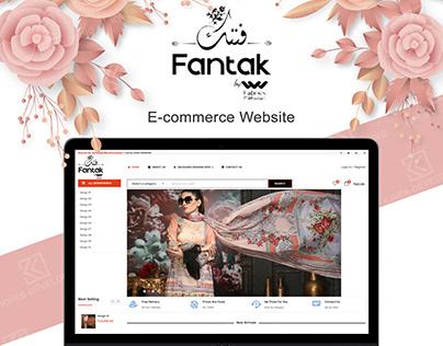 FANTAK E-COMMERCE CLOTHING WEBSITE