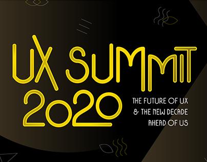 2020 / Branding // UX Summit