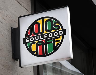 Jojo's Soulfood Cafe Menu Design