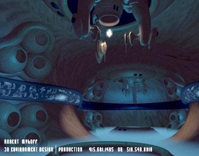 3d modeling + lighting for video game, pre-rendered CG.
