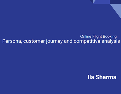 User research for online flight booking system