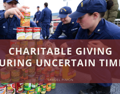 Charitable Giving During Uncertain Times