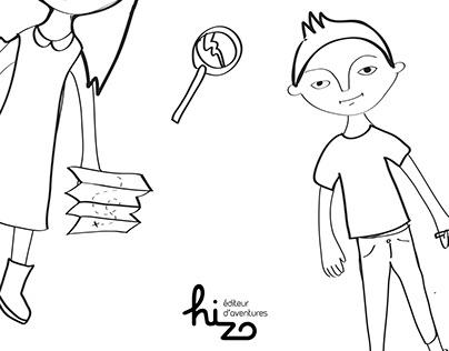 Hizo, éditeur d'aventures