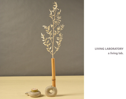 LIVING LABORATORY a material exploration