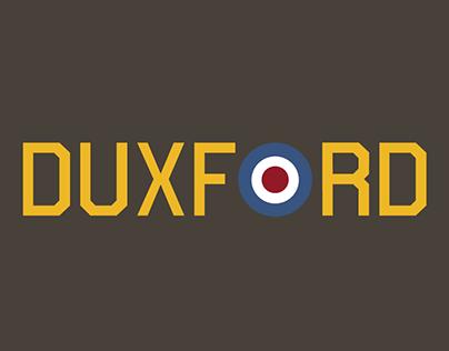 Duxford typeface