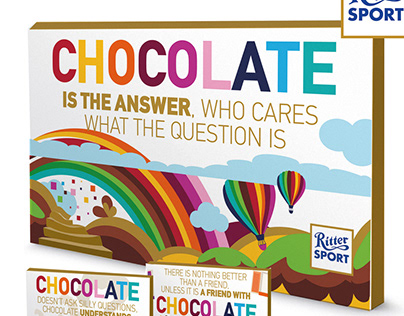 RITTER SPORT Chocolate is in the Air