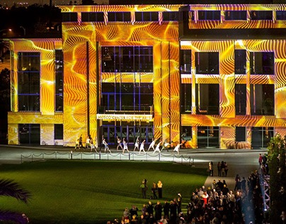 Grand Opening Projection Mapping