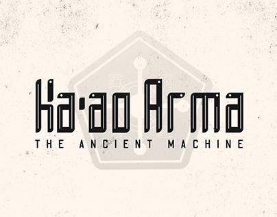 Ka'ao Arma: The Ancient Machine (UI Design Concept)