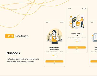 NuFoods | UI/UX Case Study